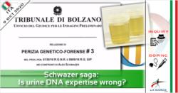 Schwazer saga: perizia su DNA urine è sbagliata?