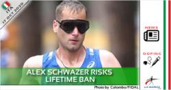 Alex Schwazer rischia la squalifica a vita
