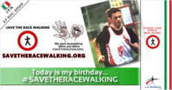 Today is my birthday... #SAVETHERACEWALKING