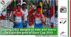 Doping DSQ assigns to Italy and Marco De Luca the gold of Euro Cup 2015