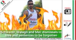 Schwazer, Malagò e Mei: archiviazioni da amare e sentenze da dimenticare