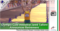 Olympic Gold medallist Jared Tallent Announces Retirement