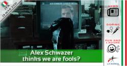 Alex Schwazer pensa che siamo stupidi?