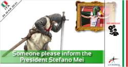 Qualcuno informi il Presidente Stefano Mei