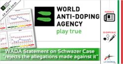 WADA Statement on Alex Schwazer Case