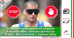 Schwazer's new appeal to suspend disqualification: contrary opinion by WADA, World Athletics, CAS and ... Yohann Diniz