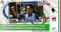 Il bronzo europeo sulla 50Km porta Andrea Agrusti alle Olimpiadi di Tokyo (intervista)