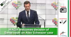 La WADA accoglie con favore la decisione del tribunale svizzero sul caso Alex Schwazer