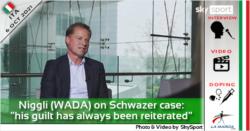 """Niggli (WADA) sul caso Schwazer: """"è sempre stata ribadita la sua colpevolezza"""""""